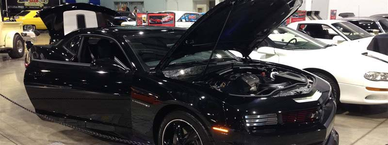"James Dean's Best in Class ""Modern Muscle Hardtop"" @ 2014 Portland Roadster Show"
